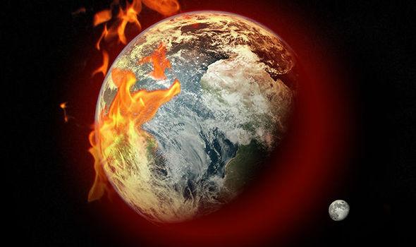 heat on earth