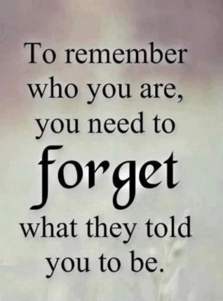 to-remember-who-you-are-you-need-to-forget-what-they-told-you-to-be-quote-1